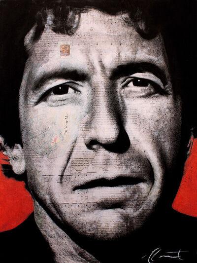 André Monet, 'Leonard Cohen', 2019