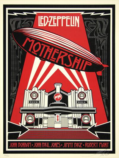 Shepard Fairey, 'Zeppelin Mothership', 2007