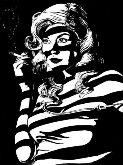 Tom Duffy, 'Smoking Lady', 2016