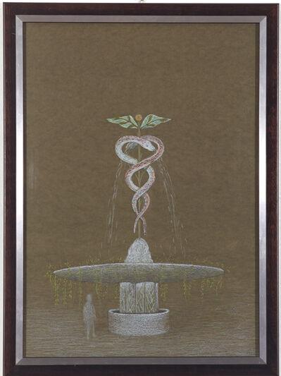 Méret Oppenheim, 'Kerykeion (Hermesbrunnen) ', 1966
