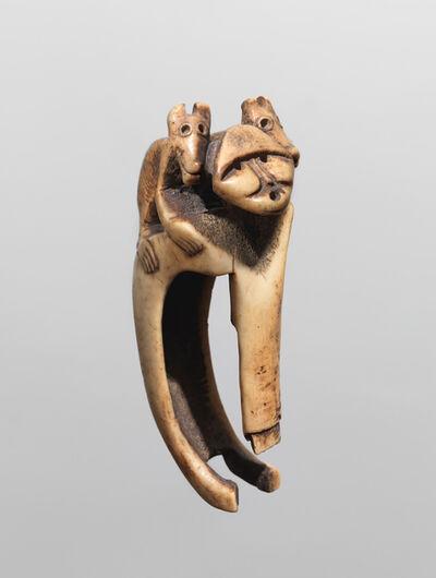 Anonymous Chinookan, likely Multonomah artist, 'ADZE HANDLE (CN4313-128)'