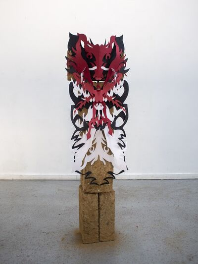 Daniele Formica, 'The beast ascends as the spirit of fear', 2021