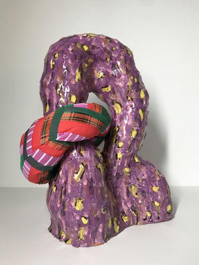 Ak Jansen, 'Ceramic and textile sculpture: 'No. 8'', 2020