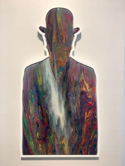 Alex Echo, 'A Walk Along the Thames (Magritte) ', 2016