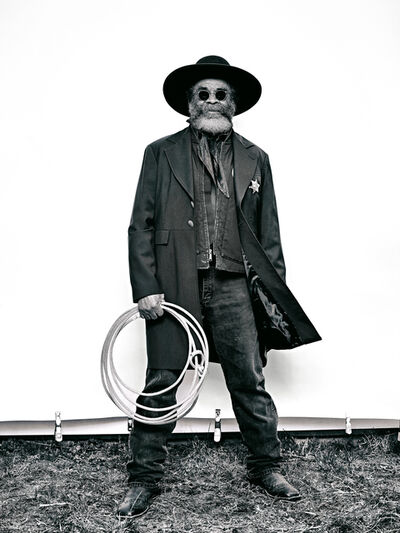 """Brad Trent, 'Ellis """"Mountain Man"""" Harris from """"The Federation of Black Cowboys"""" series for The Village Voice', 2016"""