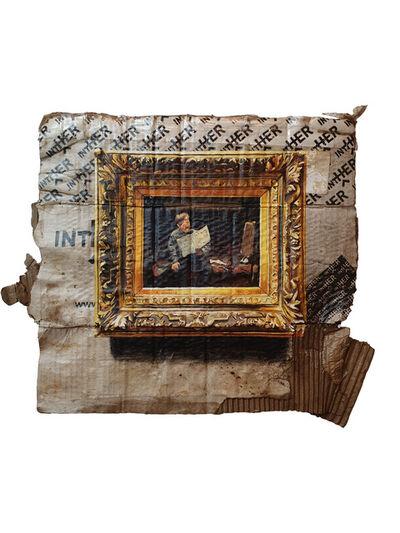"Julio Anaya Cabanding, 'David Oyens. ""Artiste Lisant""', 2019"