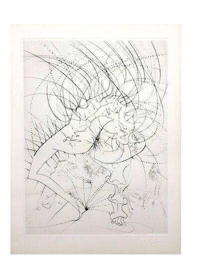 "Salvador Dalí, 'Original Etching ""Venus in Furs III"" by Salvador Dali', 1968"
