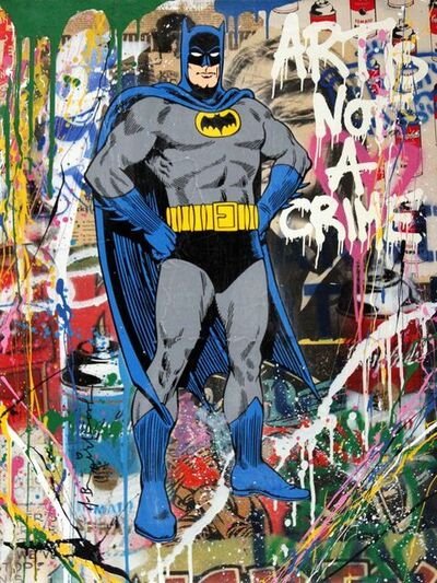 Mr. Brainwash, 'Batman', 2017
