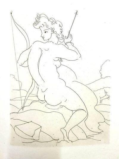 """André Derain, 'Original Etching """"Héroïdes by Ovide IX"""" by André Derain', 1938"""