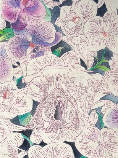 Friederike Ruff, 'The Secret Garden (The body as an archive)', 2017