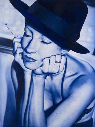 Victor Rodriguez, 'Blue Godard Heroin', 2017