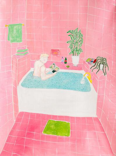 Claire Milbrath, 'Pink Bath', 2019