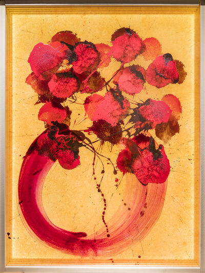 Dale Chihuly, 'Ikebana Glass on Glass Painting', 2017