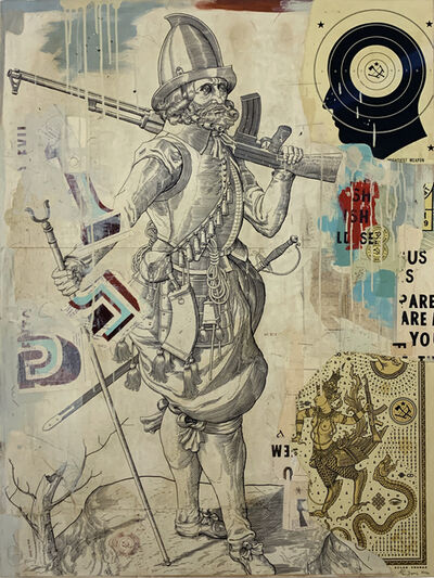 Ravi Zupa, 'MIGHTIEST WEAPON', 2020