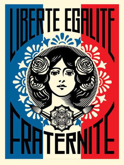 Shepard Fairey, 'Liberté Egalité Fraternité (RARE EDITION)', 2016