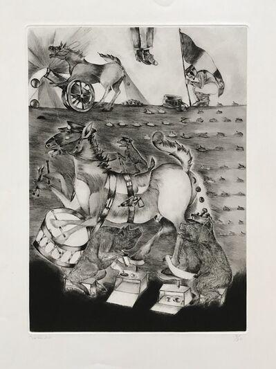 Francisco Toledo, 'War Horses', 1985