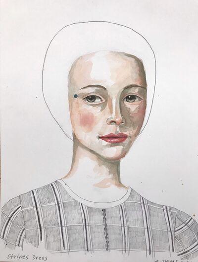 Anne Siems, 'Striped Dress', 2020