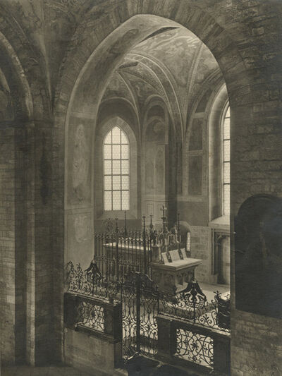 Jaromír Funke, 'Basilica of Saint George at Prague Castle, Interior', 1943/1943