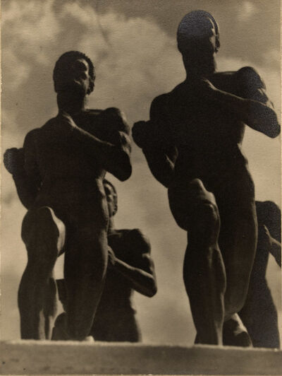 Alfred Eisenstaedt, 'Running Statues', ca. 1928
