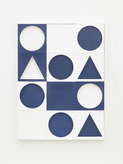 Peter K. Koch, 'o. T. (System Blau)', 2020