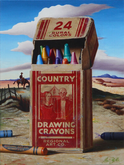 Ben Steele, 'Country Crayons', 2020