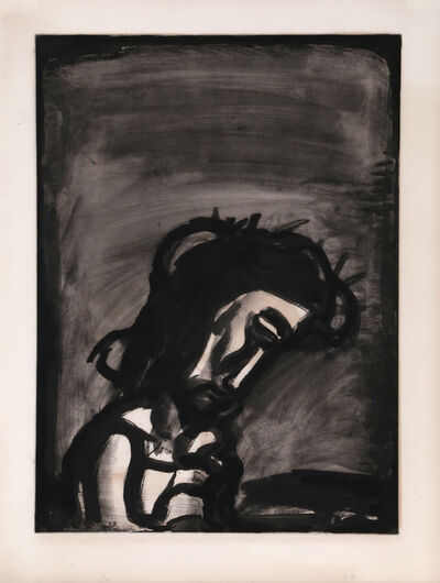 Georges Rouault, 'Jesus reviled from Misere', 1923