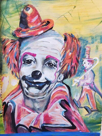 Marc Potter, 'Clown Study', 2020