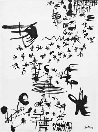 Walter Battiss, 'Calligraphic Forms'