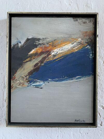 Budd Hopkins, 'Grey Sentinel II', 1963