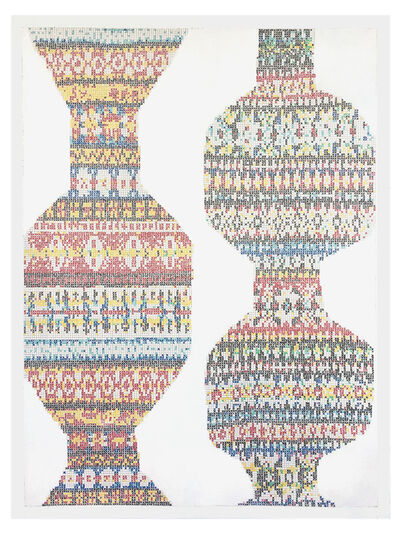 Robert Otto Epstein, 'Pair of Vessels 1', 2019