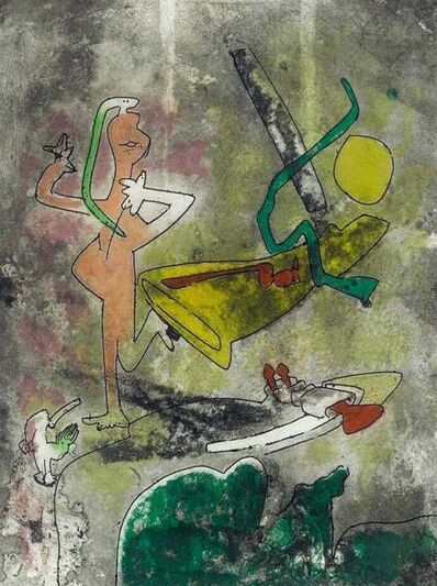 Roberto Matta, 'Centre Noeuds, Plate III', 1974