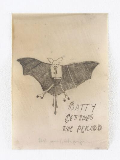 Sandra Vásquez de la Horra, 'Batty Getting the Period', 2018
