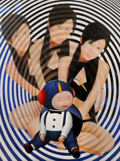 SAORI NAKAMISHI, 'blackcircles', 2009