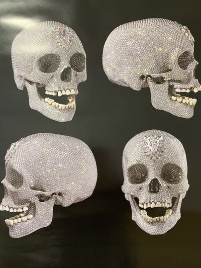"Damien Hirst, 'DAMIEN HIRST ""FOR THE LOVE OF GOD: THE DIAMOND SKULL"" BEYOND BELIEF SKULL DRAWINGF ', 2007"