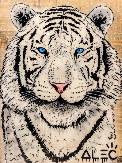 Alec Monopoly, 'White Tiger', 2017