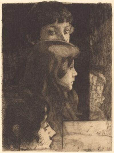 Albert Besnard, 'A Family (Une famille)', 1890