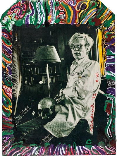 Peter Beard, 'Andy Warhol at Home in Montauk', 1972-executed later