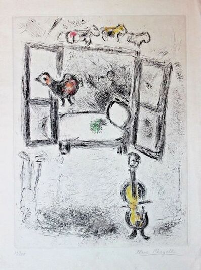 Marc Chagall, 'Untitled', 1975