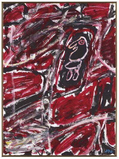 Jean Dubuffet, 'Site avec un personnage', 1981