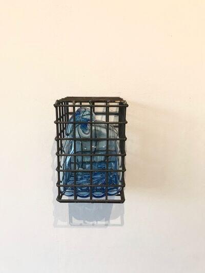 Marinke van Zandwijk, 'Caged glass bubble', 2017