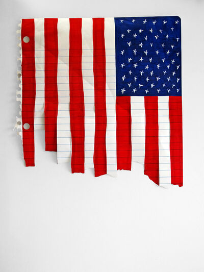 Michael Scoggins, 'Stars and Stripes Forever? (these colors don't run)', 2006 (reworked 2013)