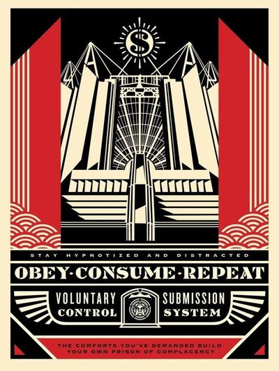 Shepard Fairey, 'Church of Consumption', 2017