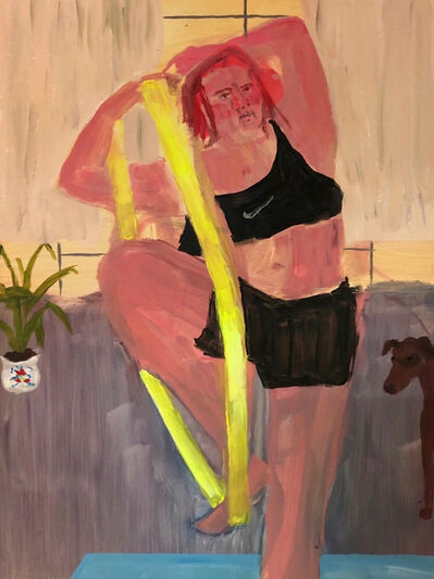Grace Metzler, 'No one can tell me how to use my own resistance band', 2021