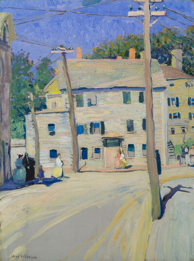 Jane Peterson, 'Old Street in Gloucester', 19th -20th Century