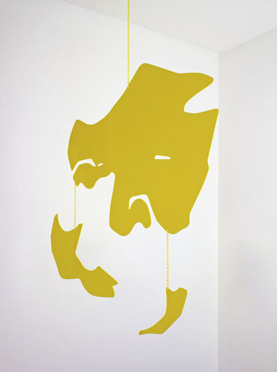 Gregg Louis, 'Blind 55 (Yellow Mobile)', 2018