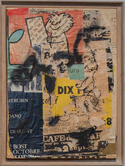 Jacques Villeglé, 'Rue Otto Dix', 1978