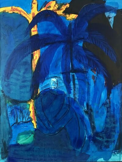 Frank Schroeder, 'Blue Forest', 2018