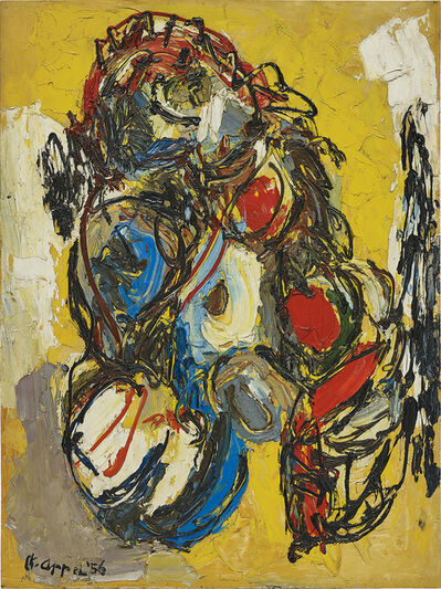 Karel Appel, 'Nu Laineux', 1956