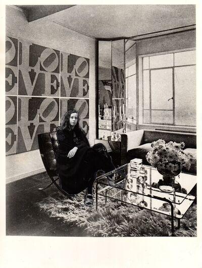Anna Bella Geiger, 'Arte e Decoração', 1975