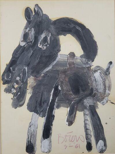 Fernando Botero, 'Donkey', 1961